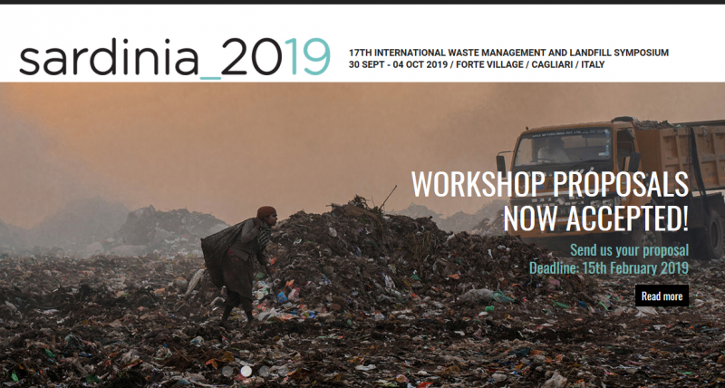 After celebrating our 30-year anniversary in 2017, the next edition of the Sardinia Symposium to be held in 2019 is looking better than ever with a success that goes from strength to strength, making the Sardinia Symposia the most important solid waste management conference in the world.  The secret of this success? Easily said:      An increasing number of young scientists is taking part in this event, acknowledging it as an important opportunity for scientific networking and debate     Attendance is largely international with more than 70 countries represented from all continents     Consistent participation of affirmed scientists     High-level scientific content supported by innovation and creativity     A venue, a setting, a natural environment, a hotel complex, a social programme that render the socialization and professional and scientific networking simply unique