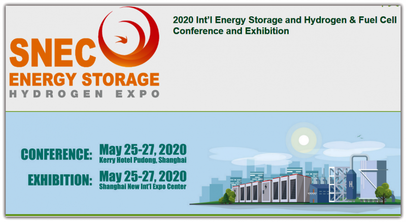 The conference and exhibition will focus on PV+storage, PV+hydrogen, fuel cell, new energy vehicles, and cover the entire value and supply chain of the industries.