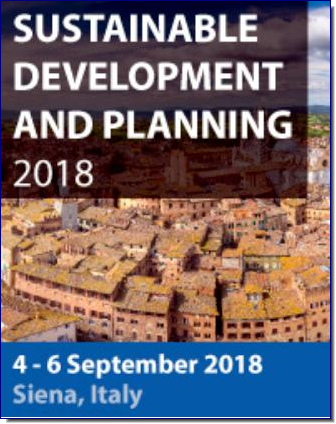 Sustainable Development and Planning 2018 will bring together academics, policy makers, practitioners and other stakeholders from across the globe to discuss the latest advances in the field. The conference will discuss new academic findings and their application in planning and development strategies, assessment tools and decision making processes.  All published papers from previous meetings are permanently archived in the Wessex Institute e-library (www.witpress.com/elibrary) where they are freely available to the international community