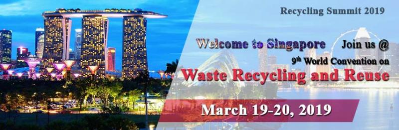 "RECYCLING SUMMIT 2019 is based on the theme ""Never Refuse to Reuse"". We stretch our warm welcome to world's leading Scientist, Researchers, and Scholars. We provide a platform for young researchers and students to present their research through oral presentations through which they can develop a foundation for collaboration among young researchers."