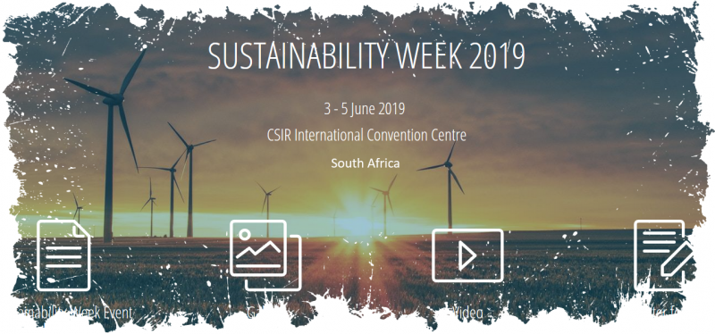 The 9th annual Sustainability Week scheduled for 3-5 June 2019, incorporating the 2nd  Sustainable Cities Southern Africa Conference, will facilitate a southern African multi-sector  dialogue that has never been more important and more timeous.  With the effects of climate change biting down like never before, wide spread  environmental and human health challenges, and the desperate need for employment and  economic development—one key crosscutting policy strategy has never been so obvious  and so potentially powerful — economic stimulus through green economy action.