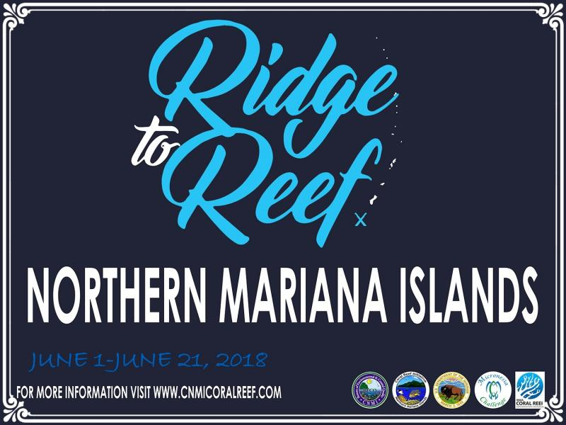 The 2018 Ridge to Reef Eco Camp is an annual Youth Stewardship Program in the islands of Tinian and Rota. We invite all youth, ages 6 years and older to participate in three-day summer camp in June and July hosted by the CNMI Coral Reef Initiative on your island. Join us as we hike our watersheds, snorkel our clear waters, and visit local conservation initiatives!