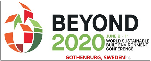 BEYOND 2020 is the next edition of the World Sustainable Built Environment Conference (WSBE), one of the most renowned conferences in the world in the field of sustainable built environment, taking place in Gothenburg, Sweden from 9th to 11th June 2020. It is organized by Chalmers University of Technology and RISE Research Institutes of Sweden, with the support of Johanneberg Science Park and the City of Gothenburg. By the year 2020 it's estimated that 4.3 billion people will live in cities and this global trend towards urbanization is expected to continue. To think and plan the cities and communities of tomorrow has therefore never been more urgent.  This planning journey will have a profound effect on the built environment all over the world. Thus, we have the responsibility to address key sustainability challenges relevant for the building sector with a global view and many different local perspectives.