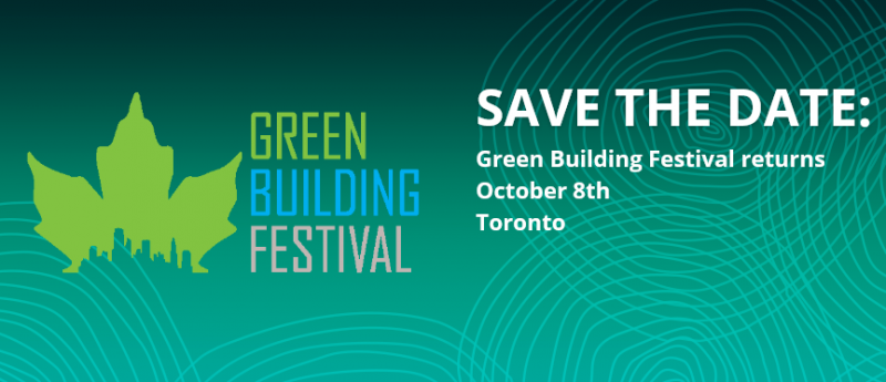 The 2019 Green Building Festival will look at both simple and complex strategies, techniques and technologies to inspire the building community in reaching the goal of zero carbon. Included will be an office building in snowy Austria that regulates comfort and temperature all without a mechanical system, Active House versus Passive House, 3D printed concrete forms that minimize waste, integrated mechanical and envelope strategies for new and existing buildings and innovative technologies that can reduce and possibly eliminate CO2 in concrete production.  Save the date and plan to join us on October 8th at the Marriott Eaton Centre in Toronto for all this and more.