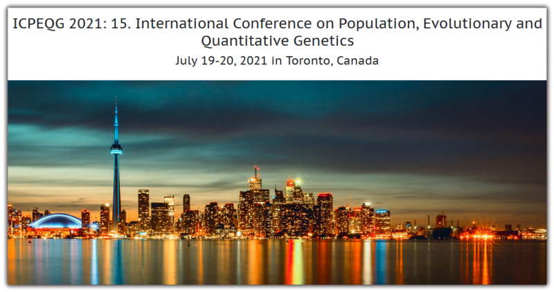 International Conference on Population, Evolutionary and Quantitative Genetics aims to bring together leading academic scientists, researchers and research scholars to exchange and share their experiences and research results on all aspects of Population, Evolutionary and Quantitative Genetics. It also provides a premier interdisciplinary platform for researchers, practitioners and educators to present and discuss the most recent innovations, trends, and concerns as well as practical challenges encountered and solutions adopted in the fields of Population, Evolutionary and Quantitative Genetics