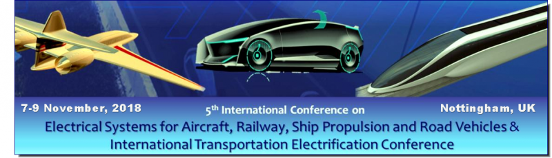 The Conference hot topic will be Greener Electrified Transportation.  The aim of the Conference is to promote a forum where people involved with transportation electrical systems problems may compare their experiences and present solutions found for actual and further requirements.  The conference will bring together academic, research and industrial experts in the area of emerging topics relevant to electrical systems for aerospace, railways, ship propulsion and road vehicles.