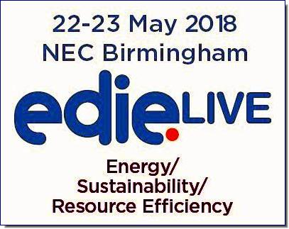 edie Live provides all the inspiration, information and introductions you need to navigate towards a smarter and more sustainable business.  From energy management technology to waste and resource efficiency solutions, from water retail to re-use, recovery and recycling, from onsite generation to energy storage and demand response, join us in May 2018 for edie Live - we have sustainable business covered.