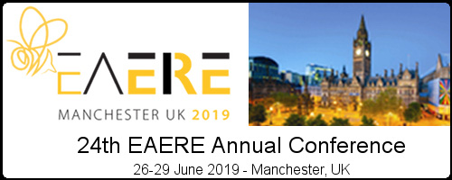 It is our pleasure to host the 24th Annual Conference of the European Association of Environmental and Resource Economists in Manchester in 2019!   Highly respected across the globe as a centre for world-class research, The University of Manchester is one of the oldest centres for the study of economics in the UK, with a Chair in Political Economy established in 1854. Today, the University's Economics department is one of the leading centres in the UK and is home to 55 permanent academic staff. Environmental economics is one of its areas of specialism, which has been expanded significantly in recent years.