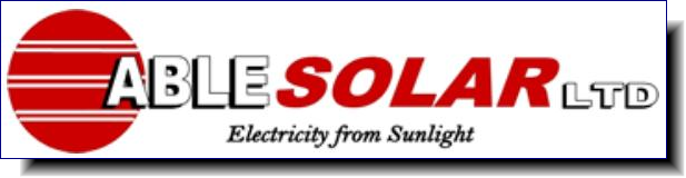 Able Solar Ltd | we use Solar Power every day in our homes and at our office in Waitakere City