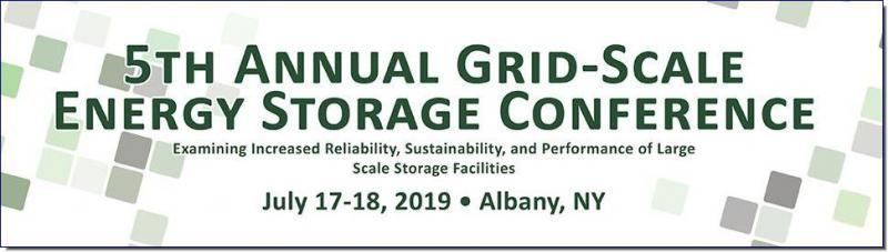 5th Annual Grid-Scale Energy Storage Conference • Examining Increased Reliability, Sustainability, and Performance of Large Scale Storage Facilities  Since its first implementation almost one hundred years ago, the concept of Grid-Scale Energy Storage has provided communities with increased energy reliability and lower energy costs. With the growing integration of and preference for renewable energy sources, as well as the growing demand for power in general, the need for energy storage methods to maintain consistent supply and increase efficiency grows as well. Although there are many storage methods currently available, and still more being developed, choosing the best method and successfully implementing a project can be daunting without the right experience. Join us for ACI's 5th National Grid-Scale Energy Storage Conference, taking place in Albany, New York on the 17th and 18th of July, and learn from the experts how to address these challenges!