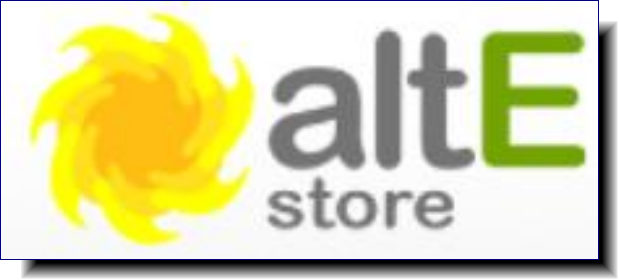 altE Store | We provide our customers with a select choice of renewable energy brands and products that we would use (and in many cases do) on our homes