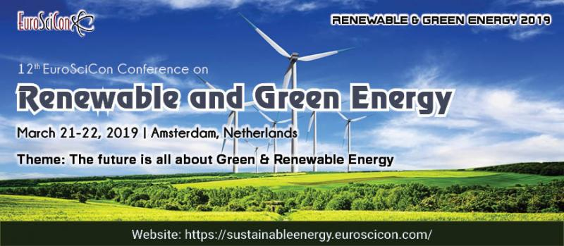 "On behalf of Sustainable and Renewable Energy 2018 Organizing Committee, we are pleased to invite academics, counsellors, educators, environmentalist, policy makers, research scientists, self-help group facilitators, teachers, business delegates and Young researchers across the world to attend Annual Summit on Sustainable and Renewable Energy Research which is to be held on August 13-14, 2018 at Paris, France. The conference highlights the theme ""Sustaining Sustainable Energies for Sustained Growth""."