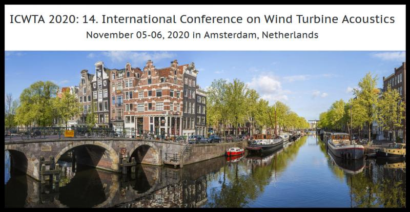 ICWTA 2020: 14. International Conference on Wind Turbine Acoustics aims to bring together leading academic scientists, researchers and research scholars to exchange and share their experiences and research results on all aspects of Wind Turbine Acoustics. It also provides a premier interdisciplinary platform for researchers, practitioners and educators to present and discuss the most recent innovations, trends, and concerns as well as practical challenges encountered and solutions adopted in the fields of Wind Turbine Acoustics