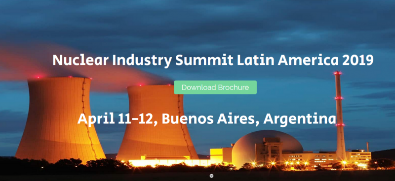 PEAK Events is the organizer of the Nuclear Industry Summit Latin America 2018 (NISLA 2018).  We are a leading business knowledge provider and event organizer based in China, dedicating to spreading nuclear industry knowledge and business information worldwide, and building platforms for the exchanges and cooperation between business decision makers.  In Argentina, we have been successfully organizing the NISLA 2016 and NISLA 2017, over 400 participants, 40 speakers and 30 sponsors joined us in the past 2 years. We hope to bring international nuclear companies to Argentina and build a platform for Argentine counterparts to seek international cooperations with overseas technologies.