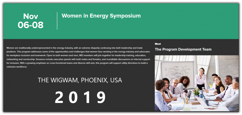 Women are traditionally underrepresented in the energy industry, with an extreme disparity continuing into both leadership and trade positions. This program addresses some of the opportunities and challenges that women face working in the energy industry and advocates for workplace inclusion and teamwork. Open to both women and men, WEI members will join together for leadership training, education, networking and mentorship. Sessions include executive panels with both males and females, and roundtable discussions on internal support for inclusion. With a growing emphasis on cross-functional teams and diverse skill sets, this program will support utility directives to build a cohesive workforce.