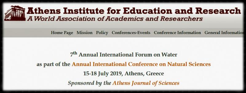 The Athens Institute for Education and Research (ATINER) is a World Association of Academics and Researchers based in Athens.  ATINER is an independent Association with a Mission to become a forum where Academics and Researchers from all over the world can meet in Athens, exchange ideas on their research and discuss future developments in their disciplines, as well as engage with professionals from other fields. Athens was chosen because of its long history of academic gatherings, which go back thousands of years to Plato's Academy and Aristotle's Lyceum. Both these historic places are within walking distance from ATINER's downtown offices.