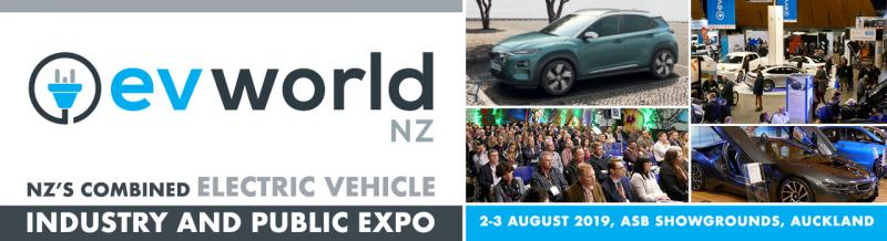 EVworld NZ is New Zealand's combined electric vehicle event, bringing together EVangelists, EV enthusiasts, and the EV curious, connecting them to those driving the charge for the future of zero carbon transport in New Zealand.  EVworld NZ serves as a focal point to grow the EV fleet in New Zealand and drive toward a more sustainable transport environment for New Zealand's future fleets.
