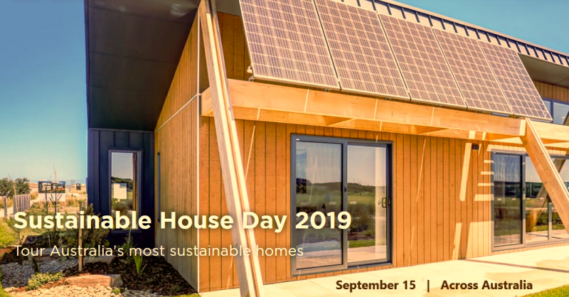For more than 19 years, Sustainable House Day has provided a great opportunity for hundreds of thousands of people to visit some of Australia's leading green homes – ones that are not only environmentally friendly, but cheaper to run and more comfortable to live in.  Sustainable House Day gives visitors a chance to inspect firsthand houses that have been designed, built or renovated with sustainability in mind as well as the opportunity to talk to owners and receive unbiased advice. Register here to attend Sustainable House Day on Sunday 15 September 2019 and to receive information in advance of the day. Once you have registered there is no need to register in subsequent years. (house addresses will only be displayed in full 2 weeks prior to the open day)  In 2018 over 33,000 people visited 226 homes across Australia.