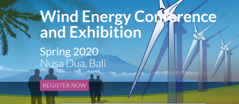 The Indonesian Wind Energy Association (IWEA) and its Dutch counterpart, the Netherlands Wind Energy Association (NWEA) are jointly hosting a specialised high level Conference and Exhibition named WindDays especially for the Southeast Asian market.