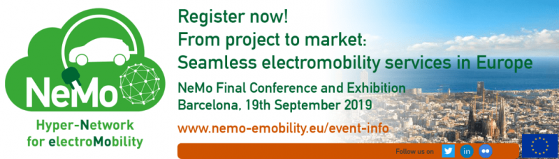 As the NeMo project reaches its conclusion this September, this wrap-up conference will present the results of three years of work by the consortium partners through technical presentations and a technology showcase featuring live demonstrations and an exhibition area. Register now and join us in Barcelona for a full day of learning and exchange around electromobility.