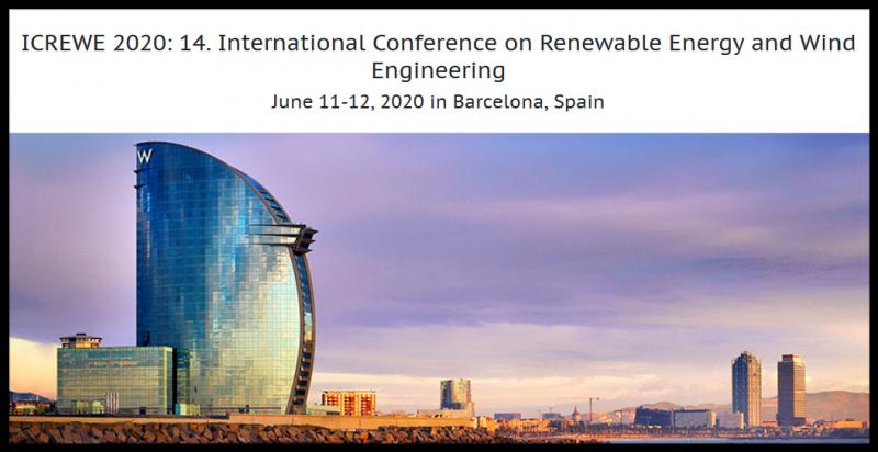 International Conference on Renewable Energy and Wind Engineering aims to bring together leading academic scientists, researchers and research scholars to exchange and share their experiences and research results on all aspects of Renewable Energy and Wind Engineering. It also provides a premier interdisciplinary platform for researchers, practitioners and educators to present and discuss the most recent innovations, trends, and concerns as well as practical challenges encountered and solutions adopted in the fields of Renewable Energy and Wind Engineering