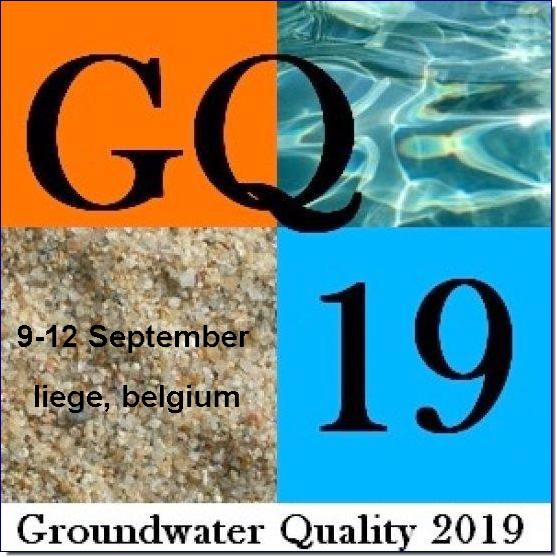 The next conference on Groundwater Quality (GQ 2019) will be held in Liege (Belgium) on 9-12 September 2019.  Click here if you want to be part of the event mailing list and be notified when the call for papers will open.