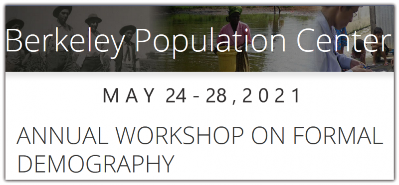 The workshops are aimed both at those with prior demographic training and those who have not studied demography but already have quantitative skills in another area. Advanced graduate students, post-doctoral fellows, and early career researchers and faculty are welcome to apply. We are interested in increasing the diversity of the field and encourage applicants from all backgrounds.