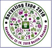 "8th World Congress and Expo on Recycling which is going to be held during June 25-26, 2018 at Berlin, Germany mainly focuses on two key topics viz. Recycling and Waste Management. Recycling Expo-2018 basing on the theme: ""Recycle today for a better tomorrow'' is a leading forum for Recycling researchers, Ecologists, Environmental academias, Experts from Chemical and Civil Engineering departments; Paper, plastic, glass, textile etc. recycling Industries. Business entrepreneurs, elite professors and students provide the ideal environment to disseminate and gain current knowledge in the area of Recycling and Waste Management."