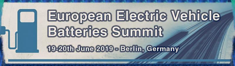 Maximising battery performance and efficiency while optimising production costs  Following the success of its inaugural event, ACI's European Electric Vehicle Batteries Summit will be taking place in Berlin, Germany on 19th-20th June 2019.  The discussion this year will be focused around the key issues currently facing the electric vehicle batteries market, such as scaling up the industry over the coming years and the challenges this presents, the roadblocks along the supply chain and the technology needed to implement the solutions.  The two day event will bring together industry leaders from major car manufacturers, OEM's & battery producers sharing their knowledge and experience with the latest technology developments.  Also joining the summit will be policy makers from regulatory bodies, NGO's, market & energy consultants, and providers of key solutions such as components, materials and charging infrastructure. Don't miss out on this excellent networking opportunity.