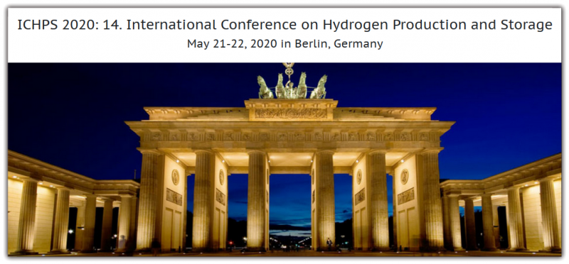 ICHPS 2020: 14. International Conference on Hydrogen Production and Storage aims to bring together leading academic scientists, researchers and research scholars to exchange and share their experiences and research results on all aspects of Hydrogen Production and Storage. It also provides a premier interdisciplinary platform for researchers, practitioners and educators to present and discuss the most recent innovations, trends, and concerns as well as practical challenges encountered and solutions adopted in the fields of Hydrogen Production and Storage