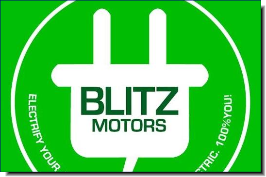 Blitz Motors' vision is to create 100% two-wheeled electric vehicles, independent of rising fuel prices and free from high maintenance costs. Working towards an emission free world and making a sustainable social change by helping riders save during difficult economic times. Blitz Motors has sourced top quality electric parts all around the world from expert suppliers, to create strong, powerful and stunning 100% electric two-wheeled vehicles at affordable prices.