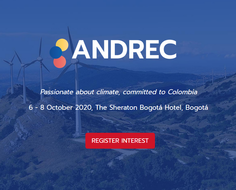 As Colombia is accelerating towards 30% renewable energy by 2030, ANDREC is the only clean energy congress and exhibition in Colombia that teams a detailed market-researched agenda with a dedicated networking arena uniting the entire value chain, offering you the perfect platform to learn and network with over 200 leading industry experts.  ANDREC will continue to guide the future of the renewable market in Colombia, bringing together an audience of local and international developers, EPCs, installers and investors.