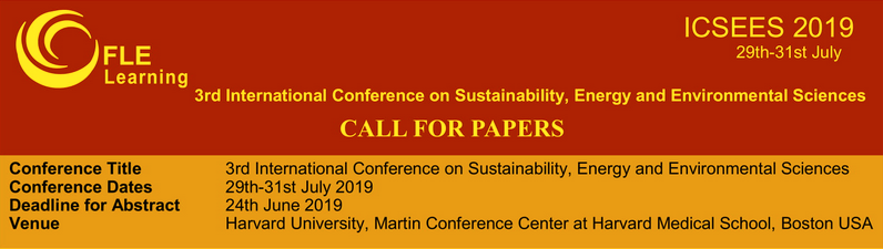 ICSEES Organising Committee has issued a Call for Papers, and would welcome the submission of abstracts in any area that falls within the broad conference theme.