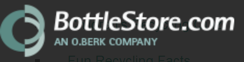 While BottleStore hasn't been distributing plastic bottles online for more than 100 year, we are part of the O.Berk company, which was founded in 1910 to mainly distribute second-hand glass bottles and jars which were collected, washed, resold and distributed by horse-drawn wagons.