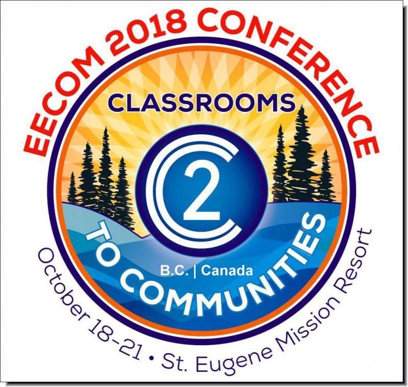 "The theme for the 2018 Conference is Classrooms to Communities (C2C) which envisions learners and educators being deeply connected to place, community and planet, able to effectively communicate their stories of connectedness, and are taking responsibility to do so.  This conference is intentionally taking place at St. Eugene Mission Resort, the site of a former residential school that is now owned and operated by the Ktunaxa First Nation as a vehicle for education, reconciliation and economic development. As Elder Mary Paul said, ""It is said that, since it was within the St. Eugene Mission that the culture of the Kootenay Indian was taken away, it should be within that building that it is returned""."