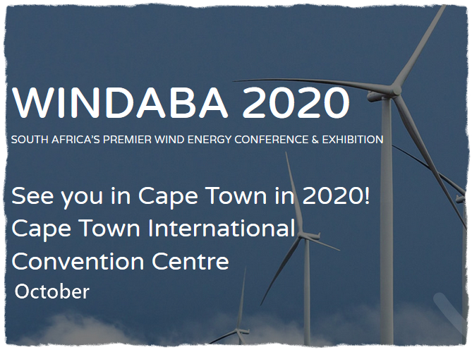 South Africa's renewable energy procurement programme continues to be the most exciting wind energy opportunity globally. Windaba Conference and Exhibition has established itself as Africa's 'must-attend' Wind Energy event.