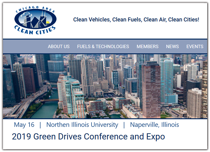 Chicago Area Clean Cities and the Lake Michigan Clean Cities Consortium are hosting their 8th annual Green Drive$ Conference and Expo on Thursday, May 16.  This is one of the largest green-transportation conferences in the Midwest. Speakers from automakers, commercial and government fleets will address topics covering advanced-vehicle technologies and alternative fuels, and advanced fuels/electric-vehicle infrastructure.  There will be a number of new plug-in electric and hybrid vehicles available for test drives.