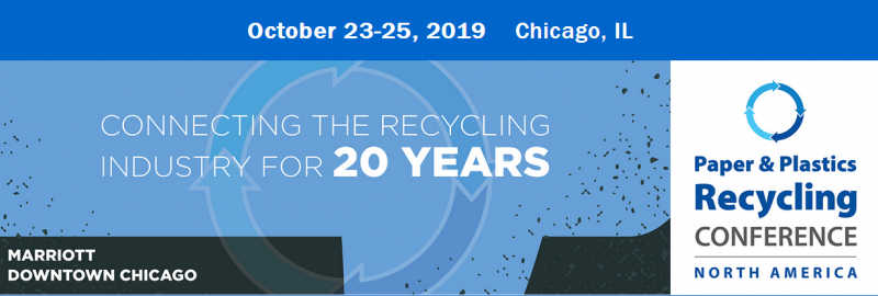 The longest-running conference and trade show in the paper and plastics recycling industry returns to Chicago this October to address the biggest challenges and opportunities facing recycling businesses today. This is your opportunity to join industry leaders, discuss real business issues, and shape the future of the industry.