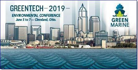 Green Marine is heading to Cleveland for its 12th annual conference. GreenTech 2019 will take place at the Westin Cleveland Downtown Hotel from June 5 to 7, 2019.  In addition to discussing issues directly related to Green Marine's environmental certification's performance indicators, GreenTech 2019 will tackle emerging issues and other topics relevant to shipping and port sustainability, such as:      The Human Factor of shipping sustainability     Dredging and habitat restoration     Big Data / Data analytics     Traffic management