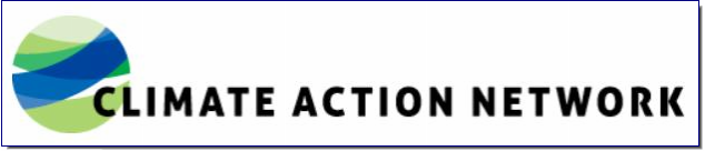 The Climate Action Network (CAN) is a worldwide network of over 1100 Non-Governmental Organizations (NGOs) in more than 120 countries, working to promote government and individual action to limit human-induced climate change to ecologically sustainable levels.  CAN members work to achieve this goal through information exchange and the coordinated development of NGO strategy on international, regional, and national climate issues. CAN has regional network hubs that coordinate these efforts around the world.