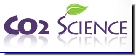 CO2 Science | created to disseminate factual reports and sound commentary on new developments in the world-wide scientific quest to determine the climatic and biological consequences of the ongoing rise in the air's CO2 content