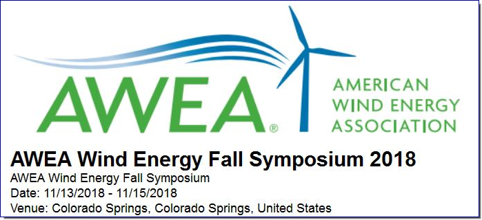 The AWEA Wind Energy Fall Symposium sets the stage for sharing successes, strategies, and lessons-learned with your wind energy industry peers. This exclusive, top-tier event is one of the only venues where AWEA's committees and Board of Directors convene face-to-face. It's a 'Who's Who' of those who are driving the wind energy industry forward. And as an attendee, you will receive premier education that arms you with information, industry trends, and innovations you need to operate in an ever-changing marketplace, giving you a competitive edge to advance your organization and enhance your career.