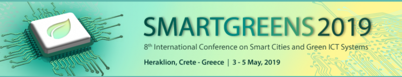 The purpose of the 8th International Conference on Smart Cities and Green ICT Systems (SMARTGREENS) is to bring together researchers, designers, developers and practitioners interested in the advances and applications in the field of Smart Cities, Green Information and Communication Technologies, Sustainability, Energy Aware Systems and Technologies