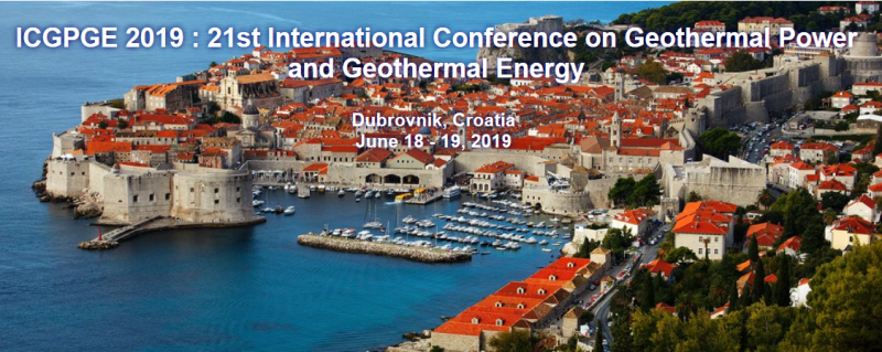 ICGPGE 2019: 21st International Conference on Geothermal Power and Geothermal Energy aims to bring together leading academic scientists, researchers and research scholars to exchange and share their experiences and research results on all aspects of Geothermal Power and Geothermal Energy. It also provides a premier interdisciplinary platform for researchers, practitioners and educators to present and discuss the most recent innovations, trends, and concerns as well as practical challenges encountered and solutions adopted in the fields of Geothermal Power and Geothermal Energy.