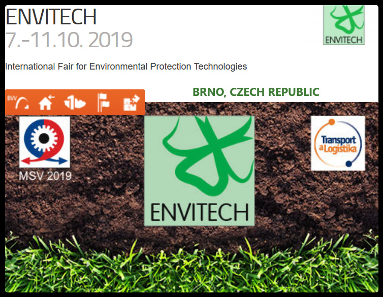 One of the few fairs in Central Europe focusing on technology, products and services contributing towards protecting and restoring the environment.