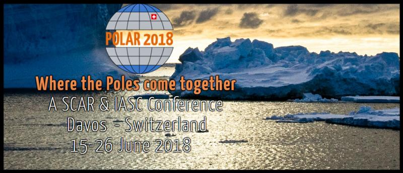 Timeline 15 - 18 June 2018 SCAR and IASC/ASSW Business & Satellite Meetings 19 - 23 June 2018 SCAR/IASC Open Science Conference & Open COMNAP Session 24 - 26 June 2018 SCAR Delegates Meeting & 2018 Arctic Observing Summit  POLAR2018 is a joint event from the Scientific Committee on Antarctic Research SCAR and the International Arctic Science Committee IASC. The SCAR meetings, the ASSW and the Open Science Conference will be hosted by the Swiss Federal Institute for Forest, Snow and Landscape Research WSL under the patronage of the Swiss Committee on Polar and High Altitude Research. The WSL-Institute for Snow and Avalanche Research SLF is organising POLAR2018,  which will take place in Davos, Switzerland from 15 - 26 June 2018.