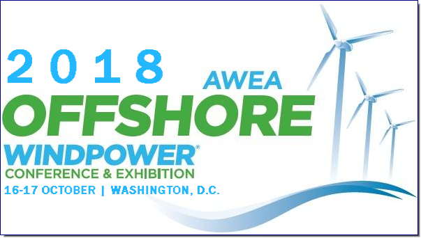 Join us in the nations capital for a timely and relevant educational program, and top notch networking. The AWEA Offshore WINDPOWER Conference program has cultivated a dedicated and thriving global community of top developers and experts, making it the largest and most successful gathering of offshore wind energy professionals in the United States.