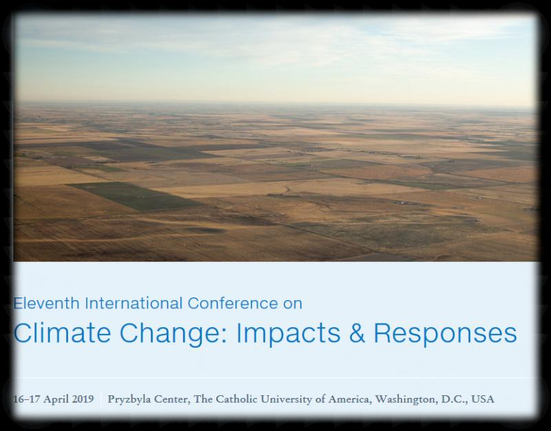 The Eleventh International Conference on Climate Change: Impacts & Responses features research addressing the following annual themes:      Theme 1: Scientific Evidence Theme 2: Assessing Impacts in Divergent Ecosystems Theme 3: Human Impacts and Impacts on Humans Theme 4: Technical, Political, and Social Responses