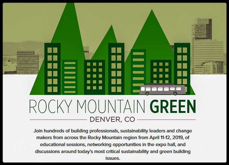 Rocky Mountain Green offers engaging educational sessions that inspire attendees into action while focusing on USGBC's mission to transform the way buildings and communities are designed, built and operated, enabling an environmentally and socially responsible, healthy and prosperous environment that improves the quality of li