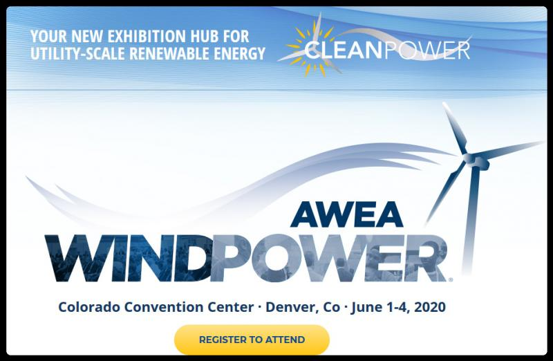 We've welcomed multi-technology businesses at WINDPOWER for years. In 2020, we're throwing the doors open, creating an even bigger opportunity for companies in wind, solar, storage and other clean energy technologies to learn and do business across the utility- scale power sector.  The WINDPOWER Conference and Exhibition will continue as the heart of CLEANPOWER, with the addition of exhibition space and conference programming for utility-scale solar, storage, and other clean energy technologies. By incorporating these technologies into a single exhibition hub, CLEANPOWER will create efficiencies for exhibitors and attendees with multi-technology business models. Pure play businesses will benefit from increased show traffic and opportunities to build beneficial partnerships across the cleantech industry.